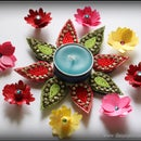 Decorative Tea-light Candle Holder
