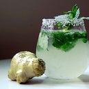 Perfect ginger lemonade