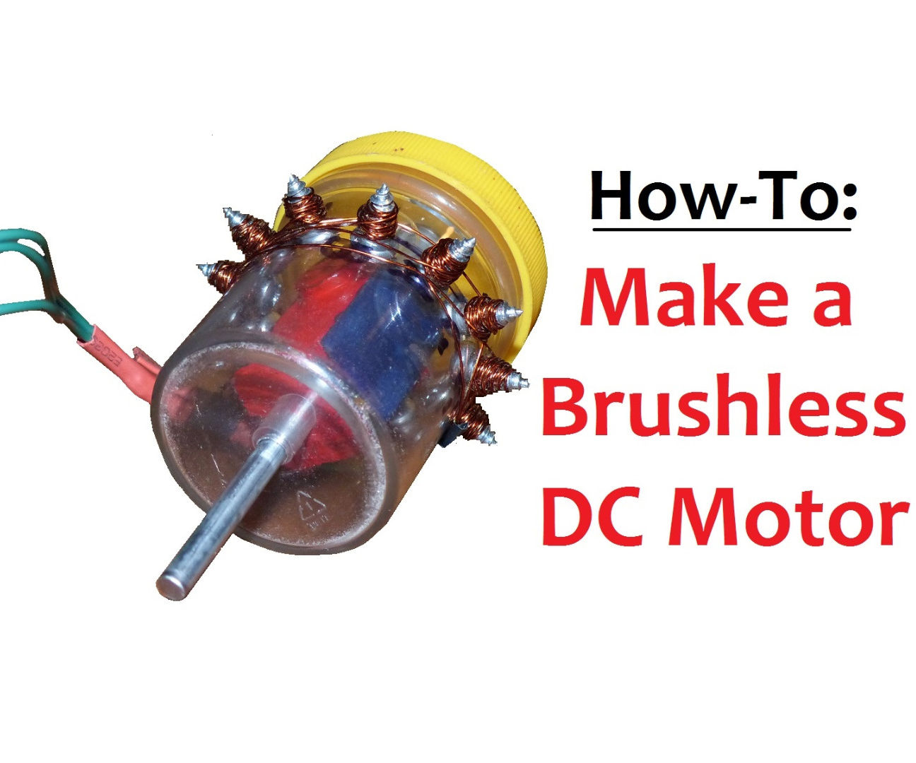 Make A Brushless DC Motor