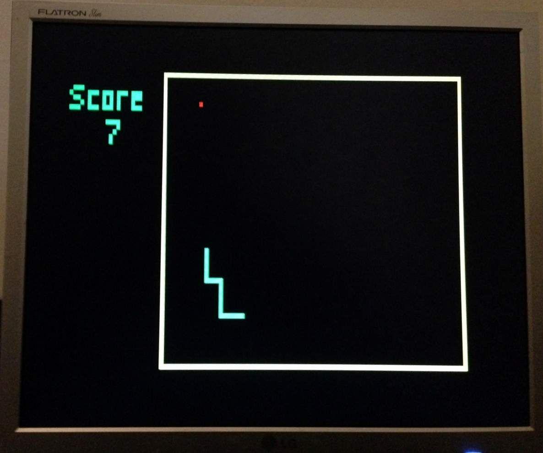 VGA Snake with Arduino Uno
