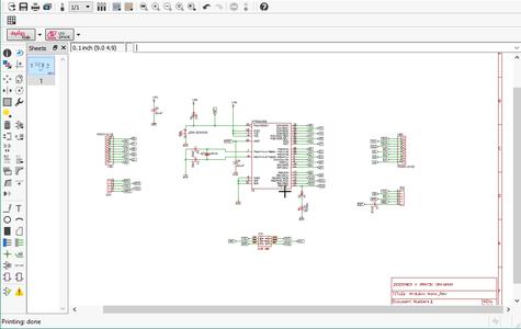 Designing of the Circuit