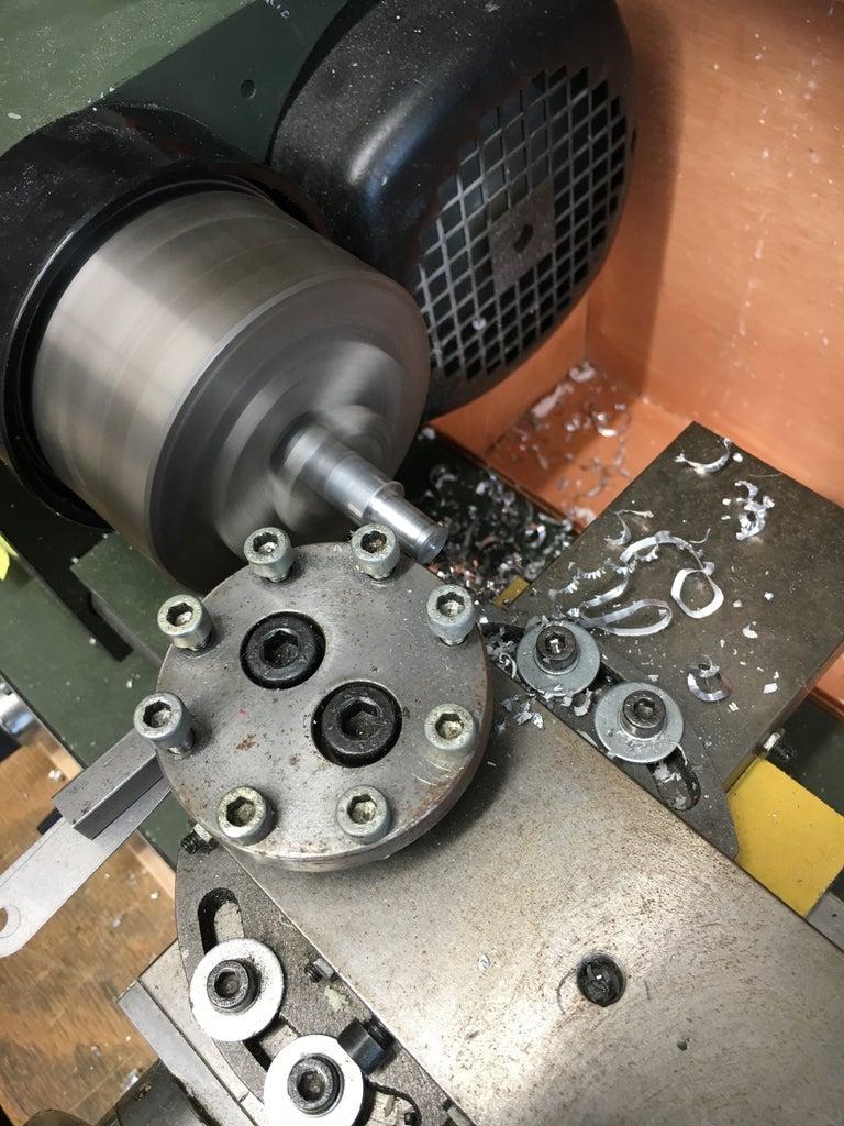 Reduce the Diameter of the Aluminum Rod