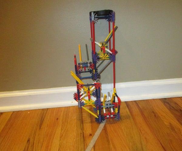 Trick Flip-Flops- a K'nex Ball Machine Element