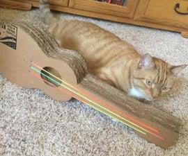 Ukulele Cat Scratcher
