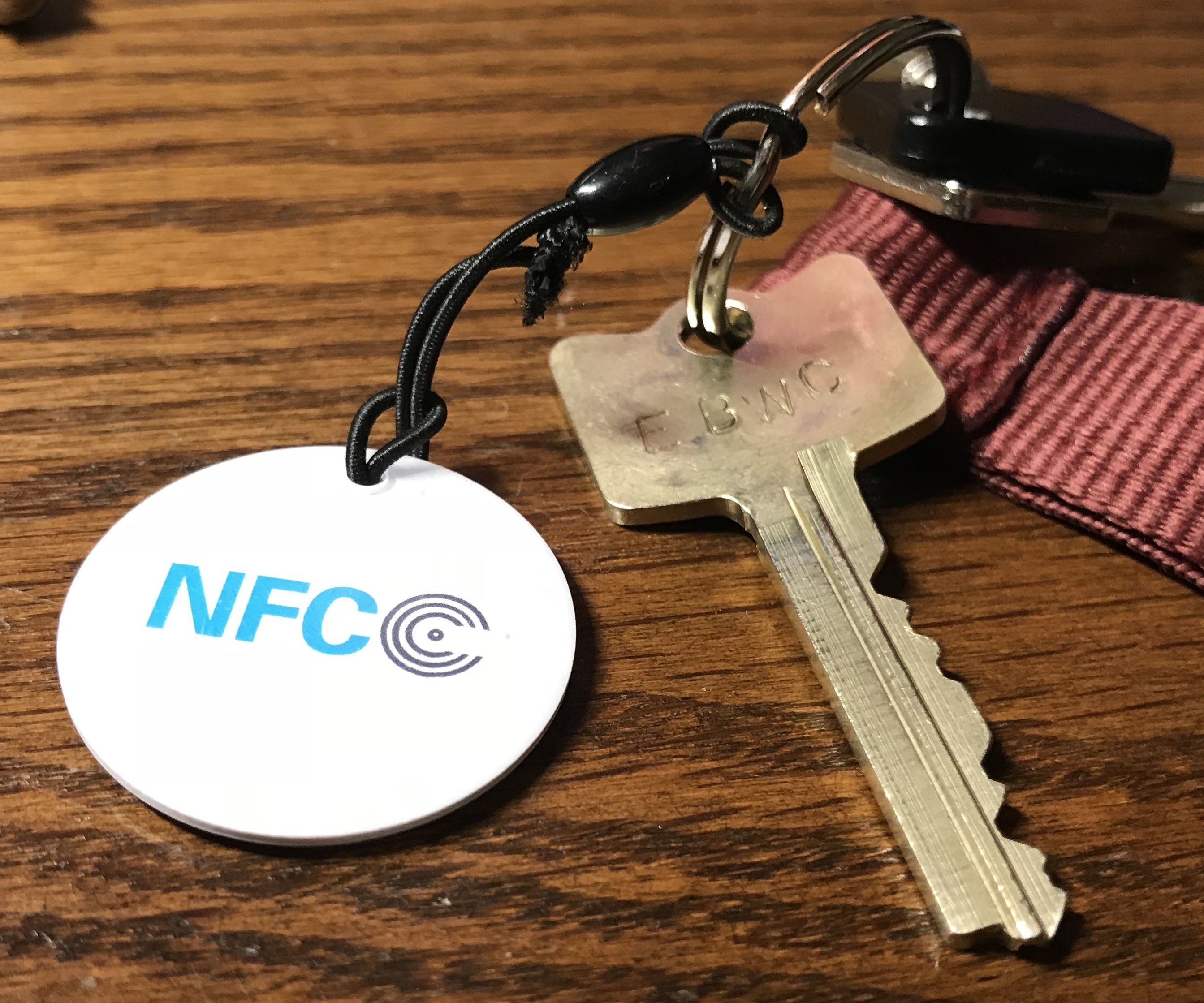 Never Forget Your Keys: NFC Door Reminder