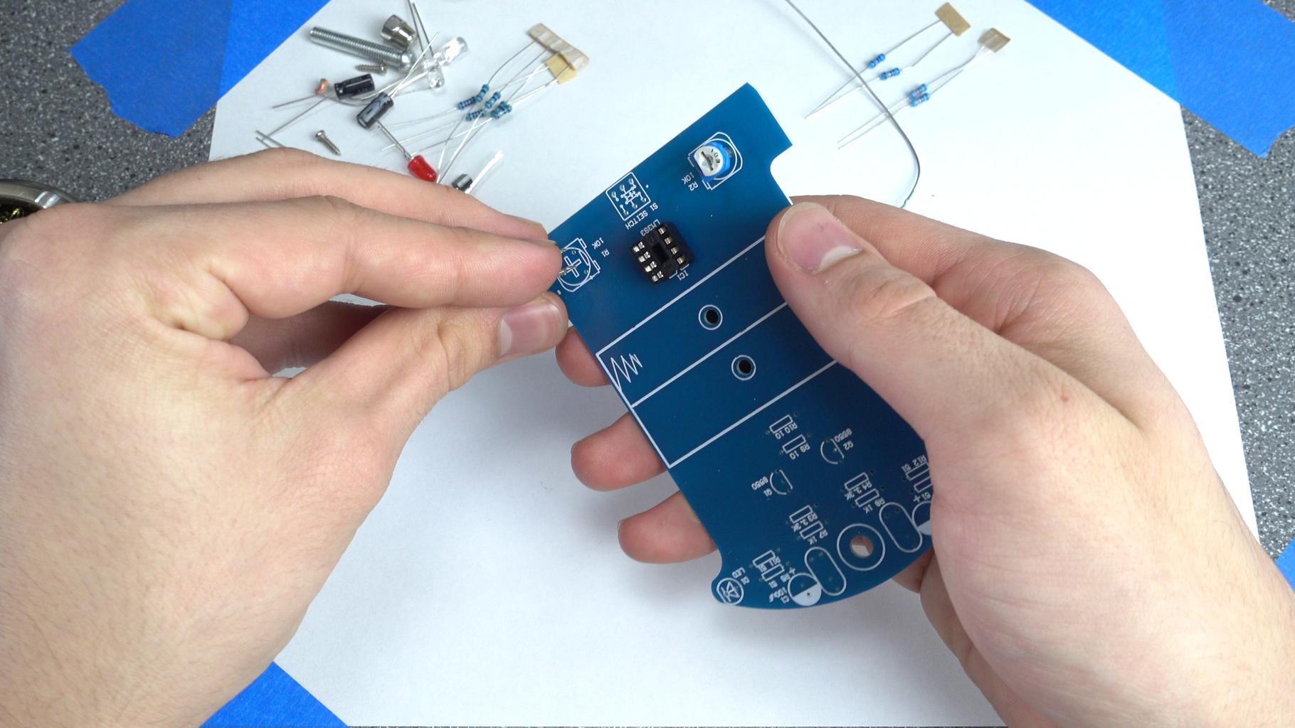 Soldering: IC Socket, Potentiometers
