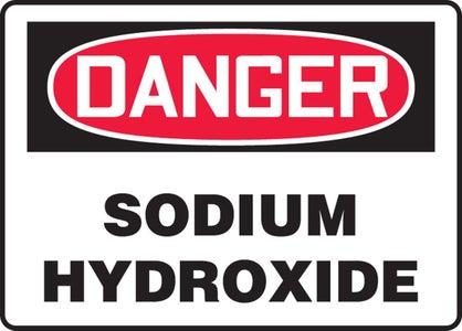 Recognize Hazards of Potassium and Sodium Hydroxide