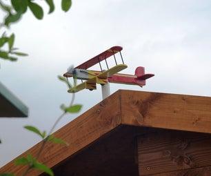 Plane Weather Vane - Girouette Avion