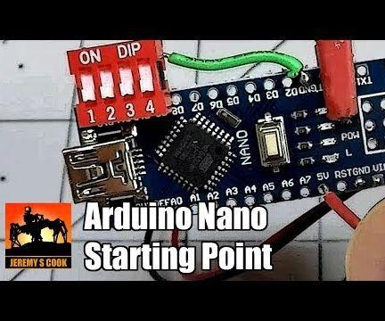 Arduino Nano INPUT_PULLUP Template