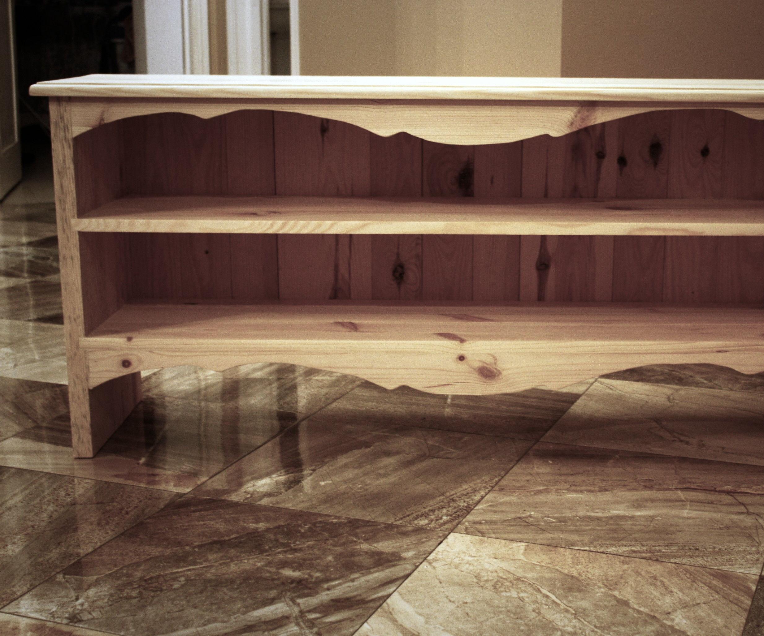 Retro/Rustic Shoe Cabinet DIY Tutorial