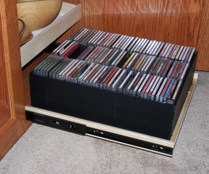Compact Disc Organizer