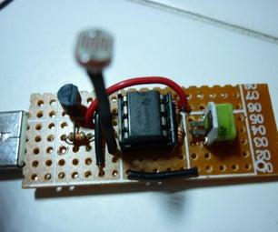 USB Night Light (LM385 Light Sensor)