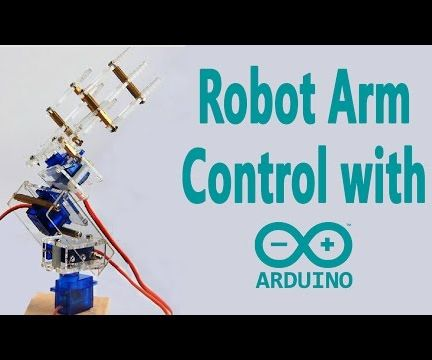 Arduino - Robotic Arm Control With a Potentiometer