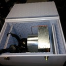 Sound Deadening Box with Living Hinges