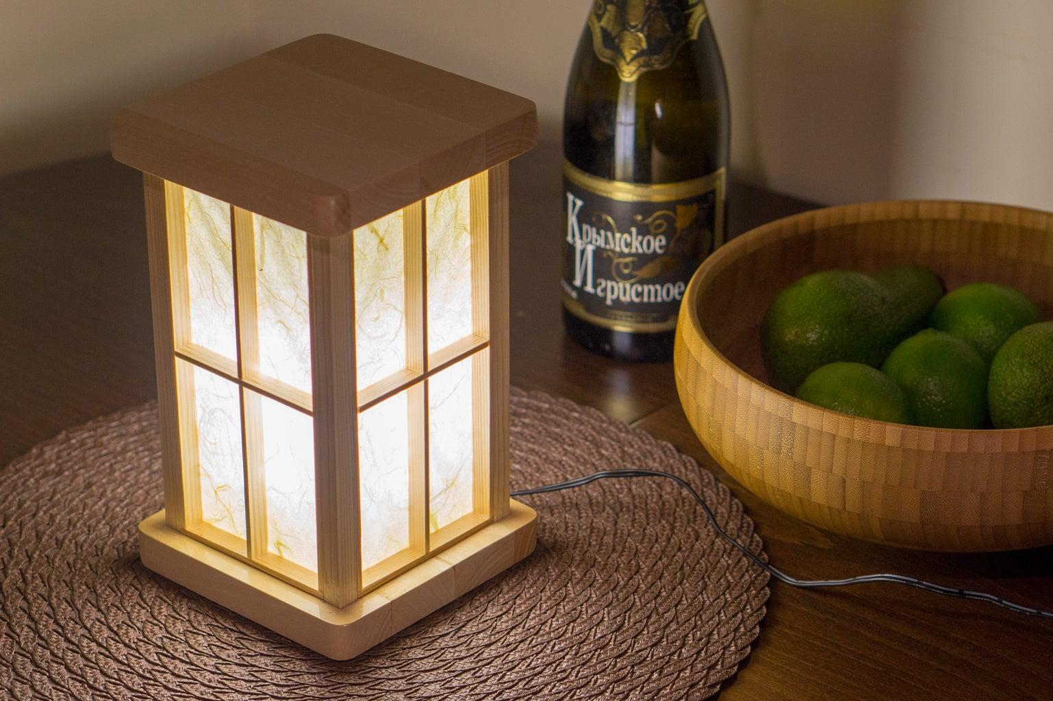 Touch-sensitive LED Lantern