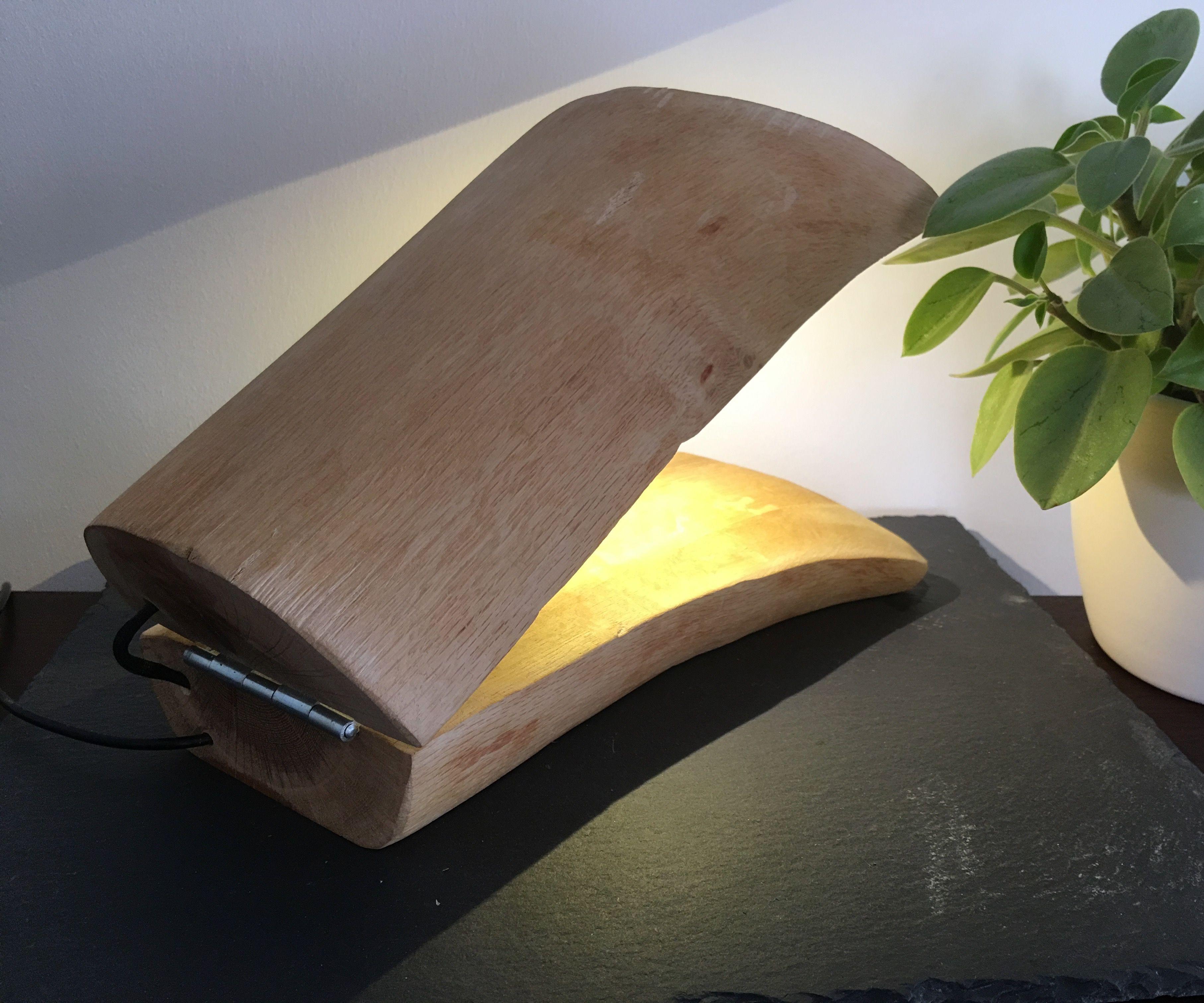 Hall (effect) Log Lamp