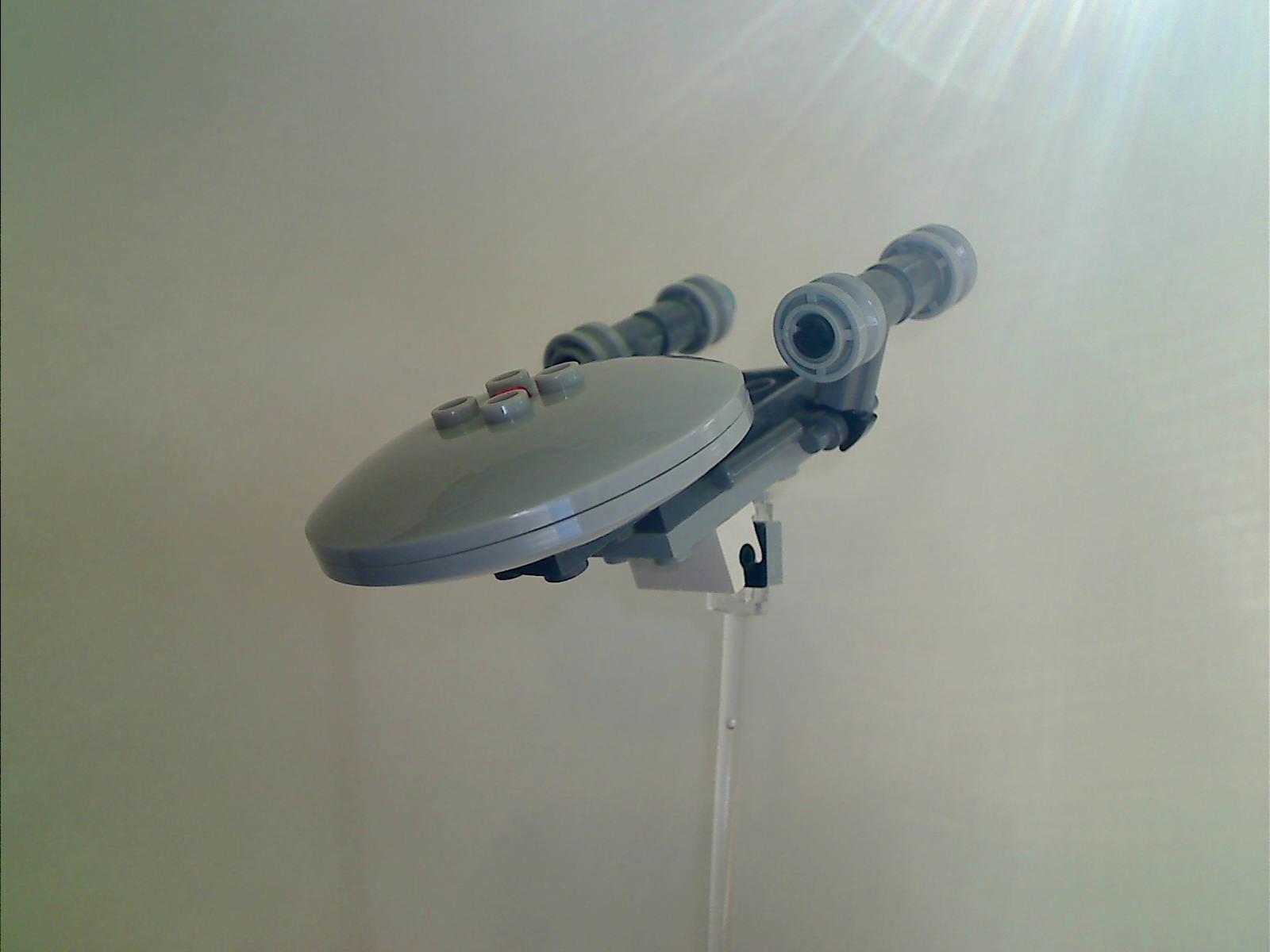 Mini Lego Starship Enterprise