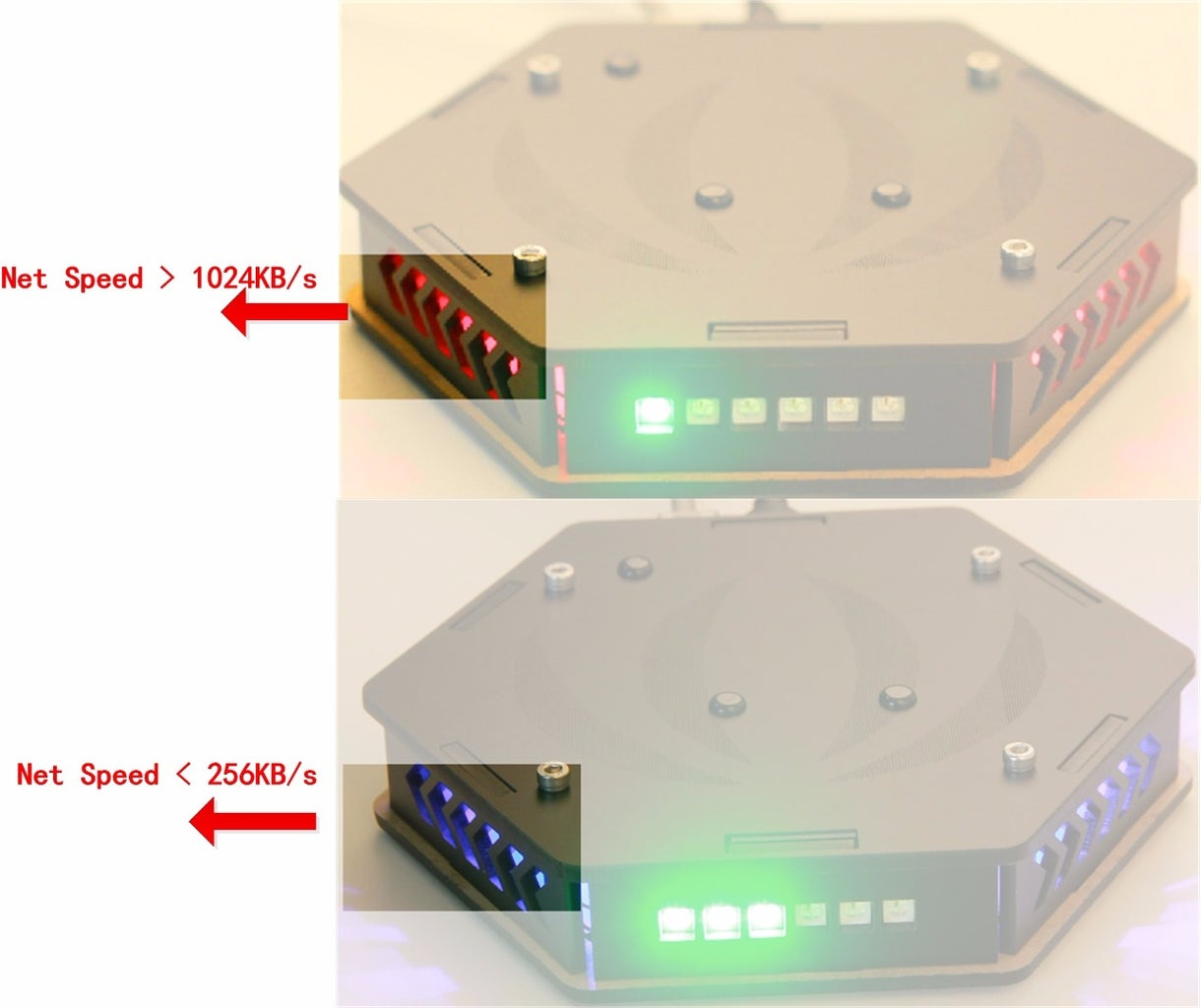 Smart Router With WiFi Connection Visualization