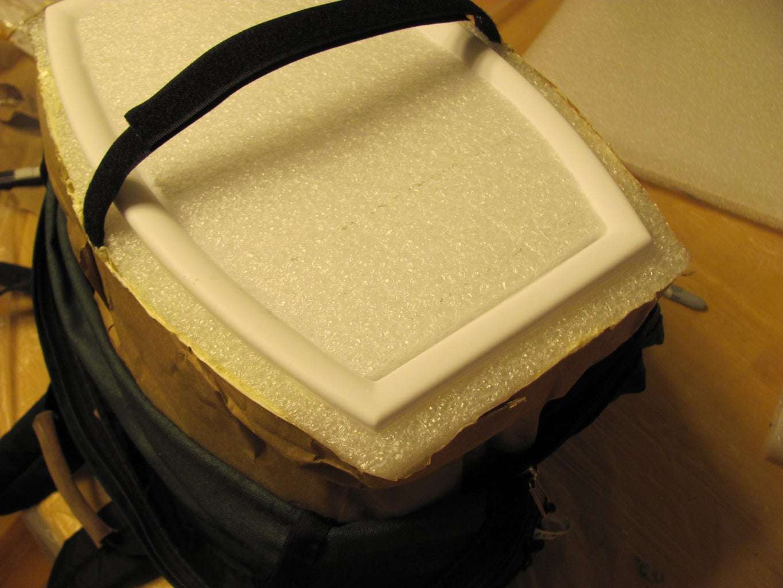 Cut the Lid Foam to Size