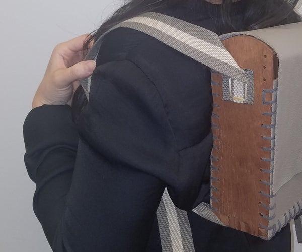 Wood & Leather Backpack V1.0