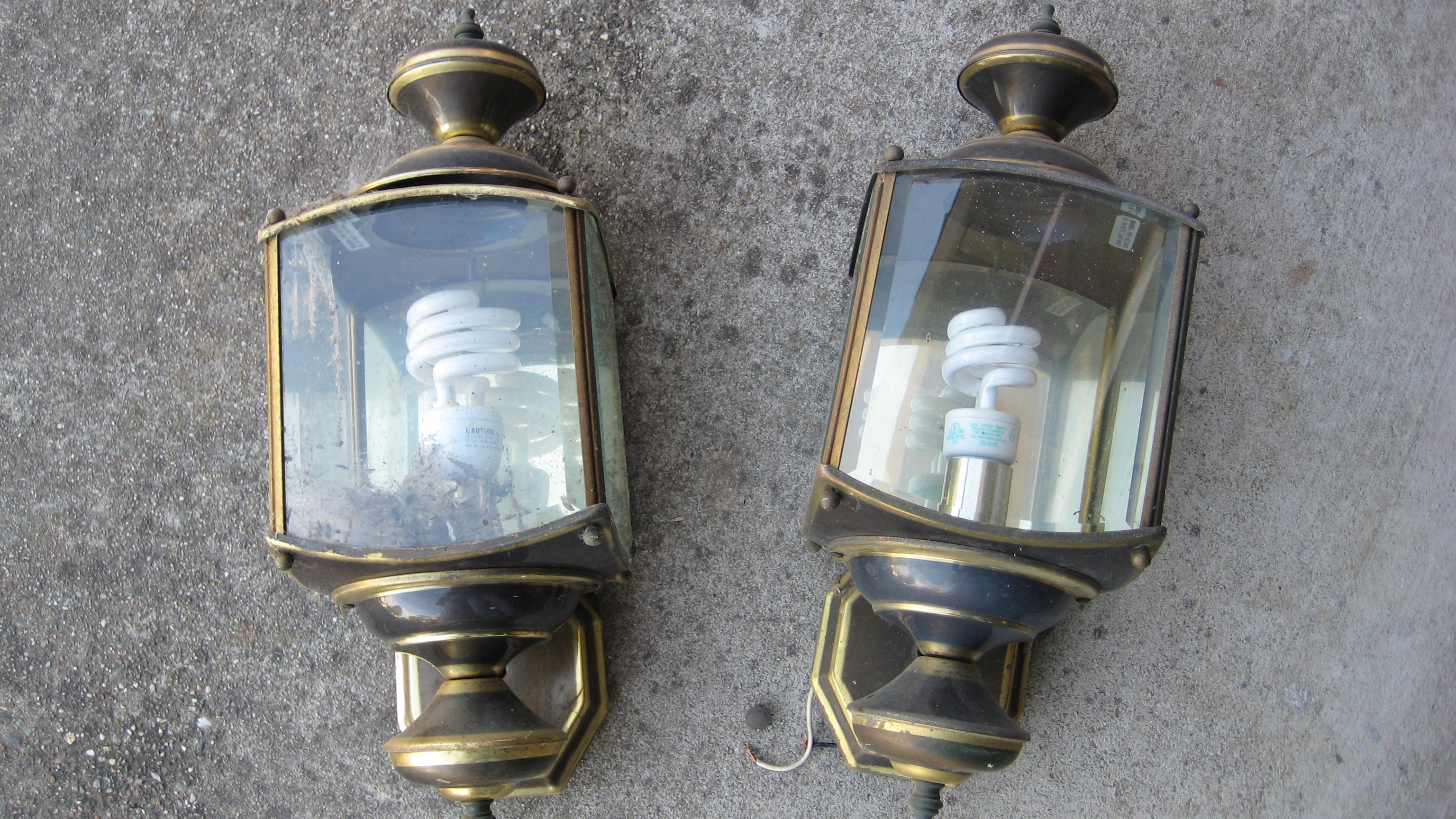 Salvage an Old Outside Light