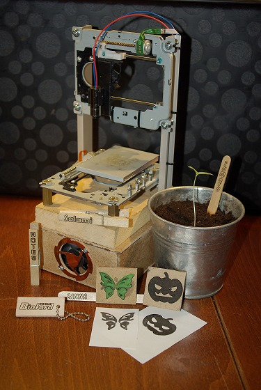 Pocket laser engraver.