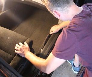 Car Door Trim Carpet Fix