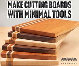 用最小的工具制作切割板