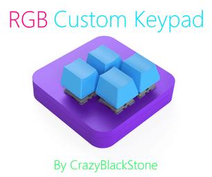 基于STM32的带有RGB的自定义游戏键盘(最初为Osu制造!)