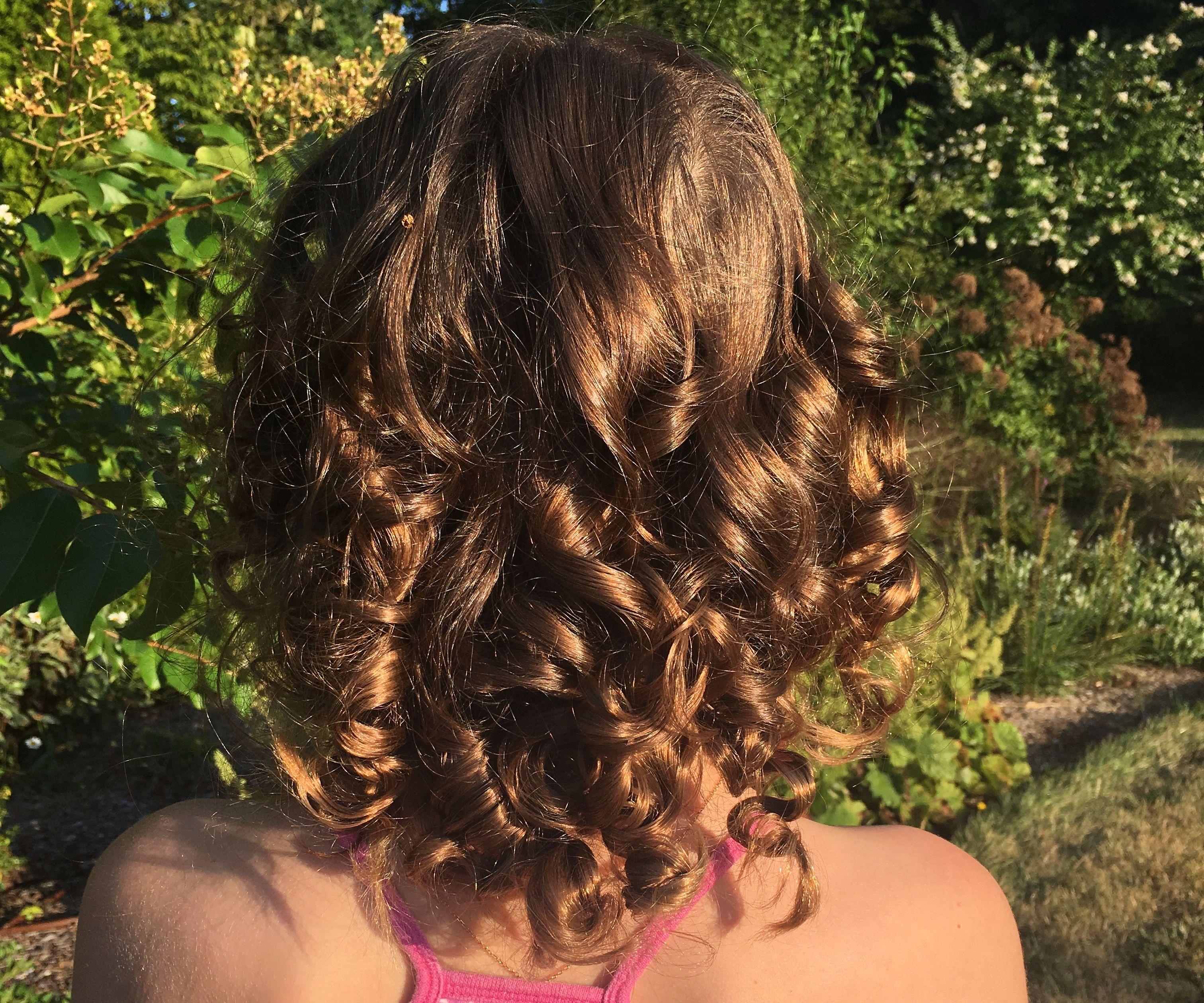 Heatless Overnight Paper Towel Curls