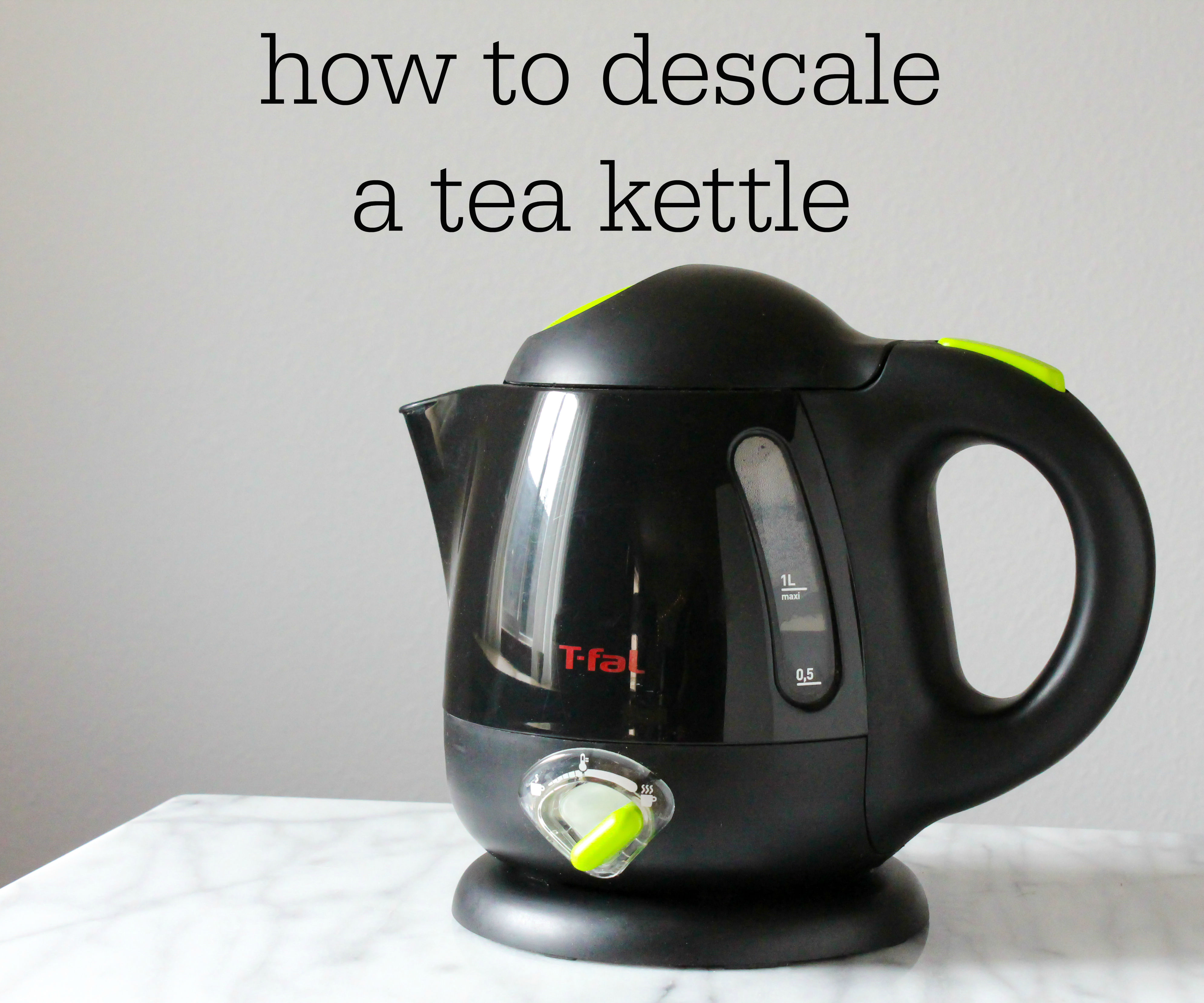 How to Descale a Tea Kettle
