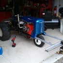 """Rebuilding a pulling tractor called """"Thermal Event"""" - Part 6 of 6 - I made it at Tech Shop!"""