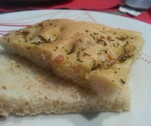 Rosemary Garlic Focaccia