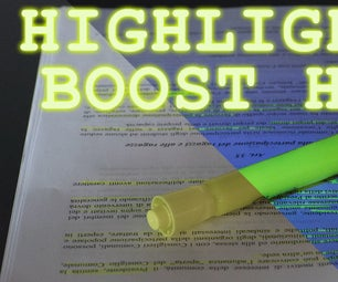 Highlighter BOOSTER - How to Build One