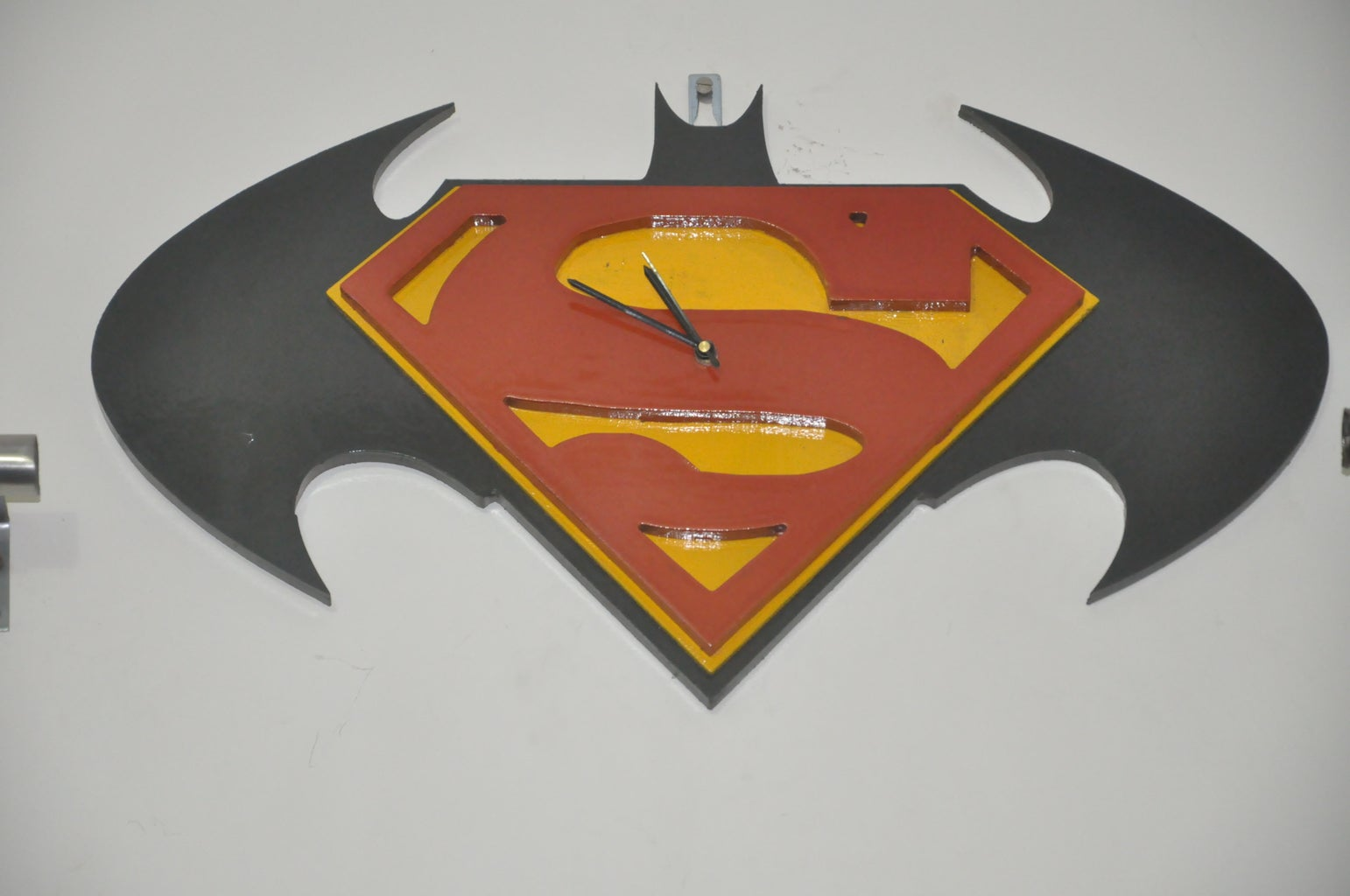 Batman Vs Superman DIY Wall Clock