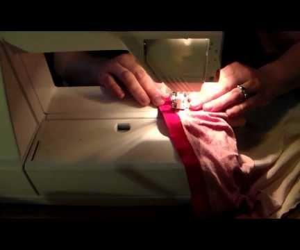 How to Make a Tank Top Shirt Bag