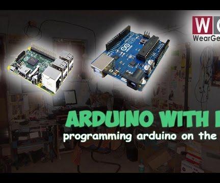 Programming Arduino using Raspberry Pi