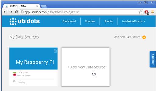 Setup Your Ubidots Account and Variables