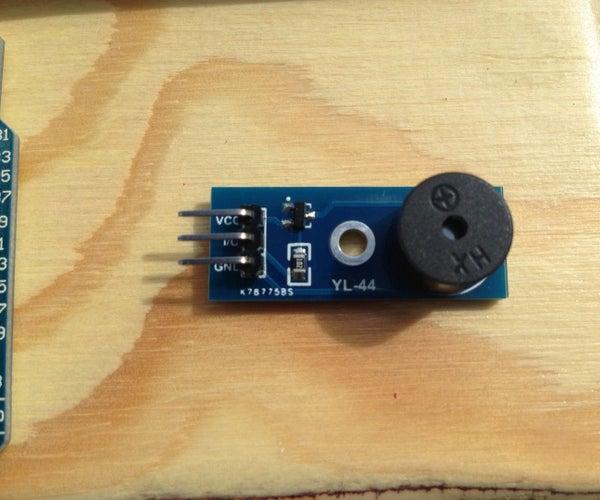 Arduino YL-44 Buzzer Module