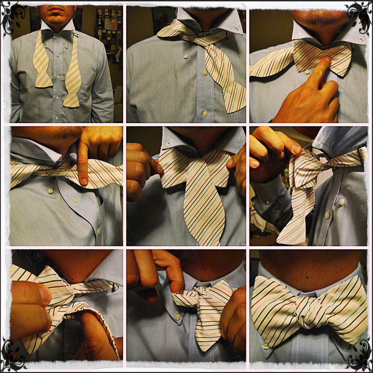 Guide to Tying a Bow Tie