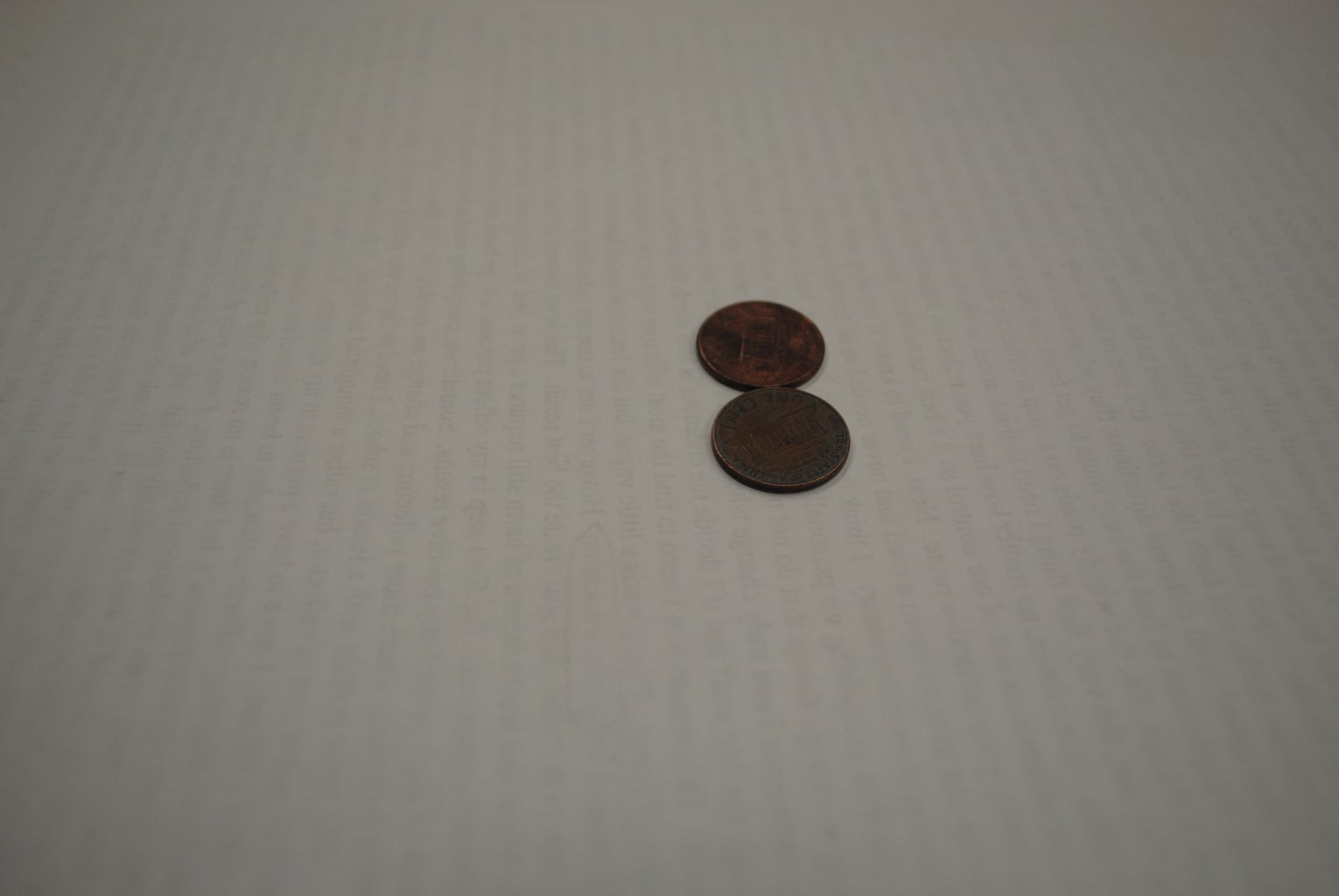 Super Gluing Your Penny Layers.