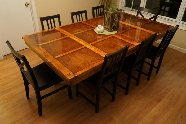 Diy Table Projects Instructables