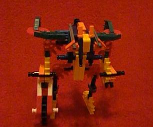 Knex Transformers: Wreck Gar (WITH VIDEO!)