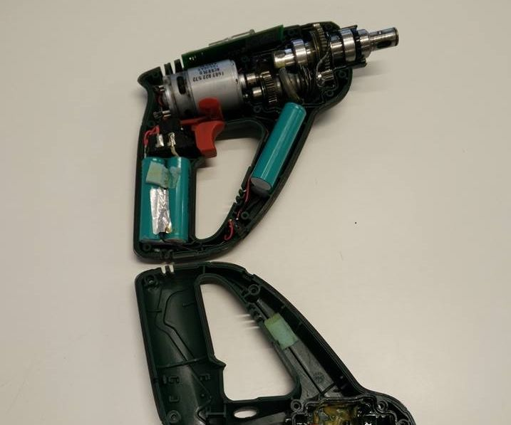 Bosch Uneo Cordless Rotary Hammer project