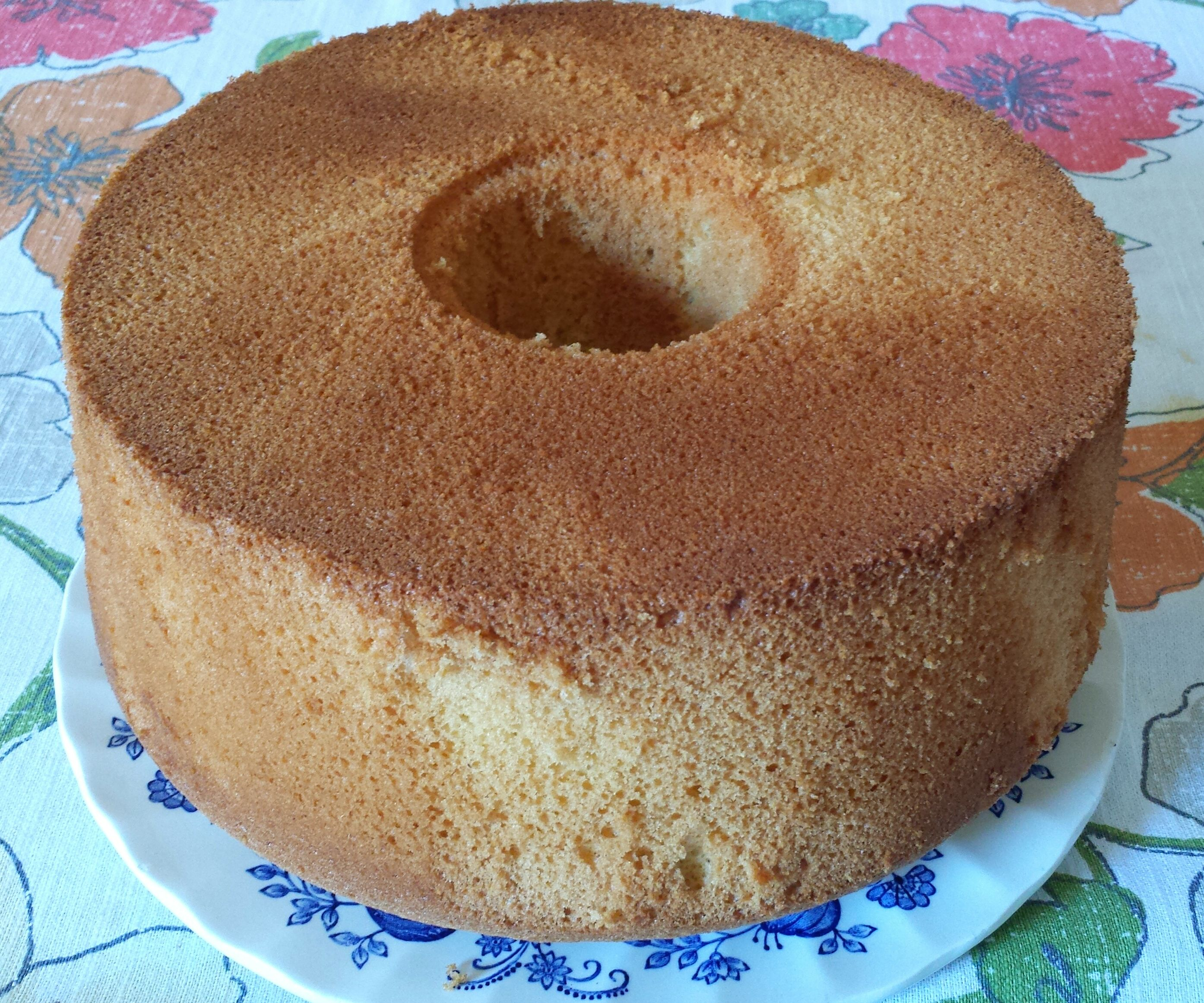 Chinese Sponge Cake: Two Ways