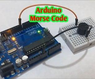 Arduino Morse Code Generator   SOS Morse Code Arduino