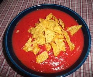 Sweet Potato-Beet Soup