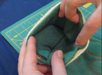 Complete Cuff and Attach to Stocking