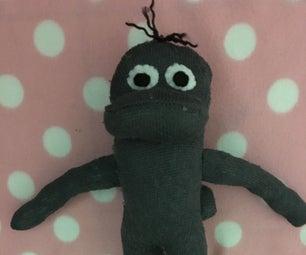 Platypus Sock Toy
