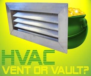 秘密HVAC通风拱顶